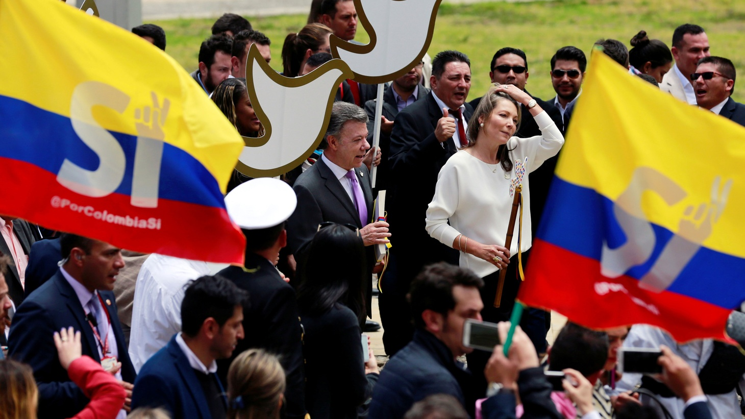 In Colombia, more than 50 years of bloody fighting marked by atrocities may finally have come to an end. But peace won't come easy when former combatants have to live side by side.