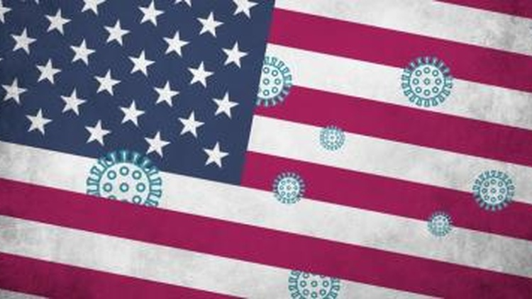 How coronavirus reveals political differences in US