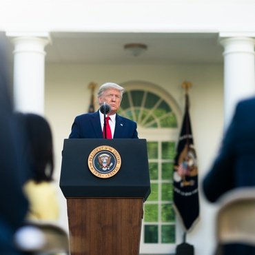 """President Trump has finally changed course, seeing COVID-19 as no longer a """"hoax."""" Experts predict the pandemic could kill up to 200,000 Americans."""