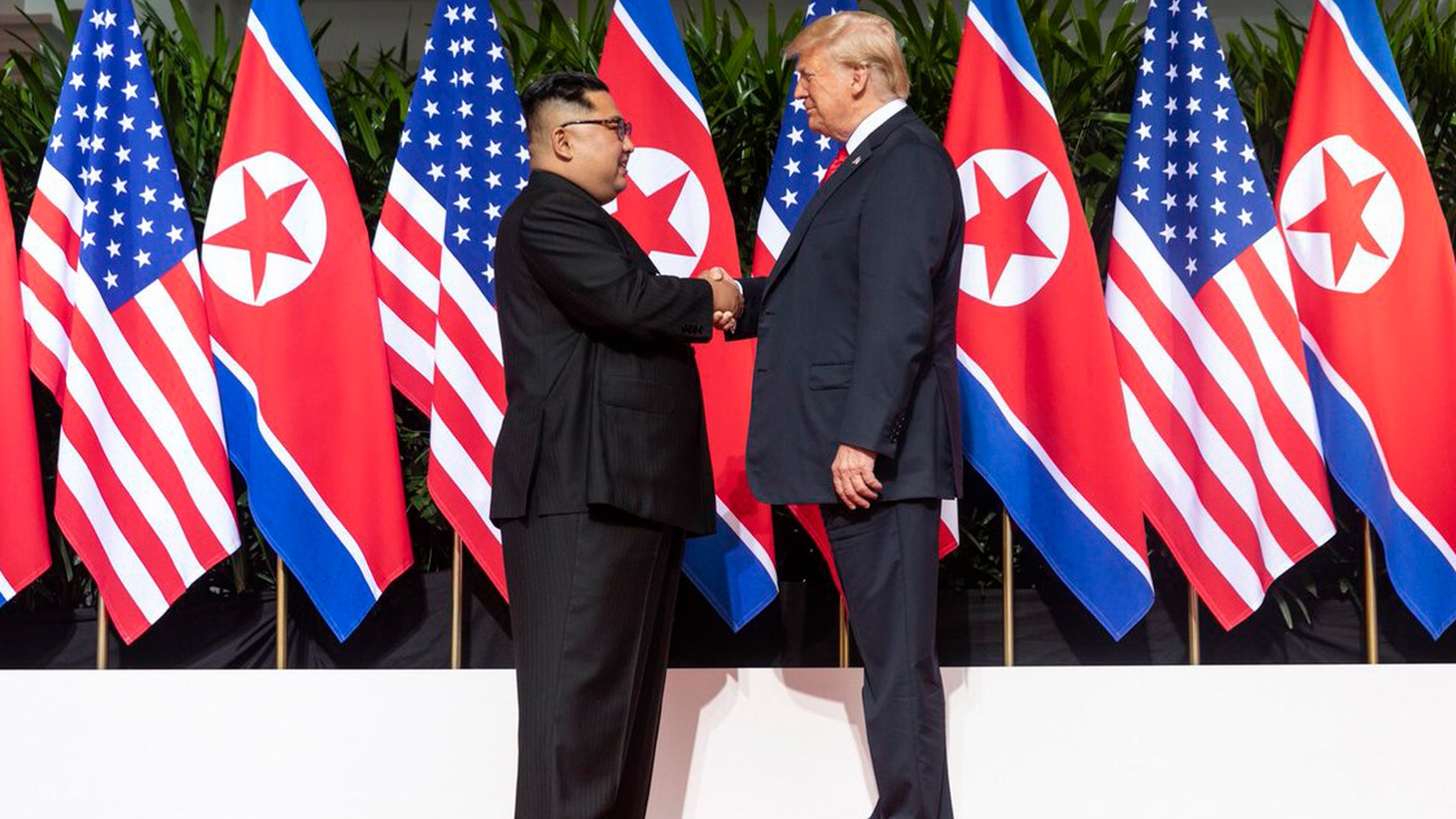 """Six months after threatening nuclear warfare, """"little rocket man"""" and the """"dotard"""" were talking peace in Singapore. Beyond the hype, did President Trump and Kim Jong Un really mean it?"""