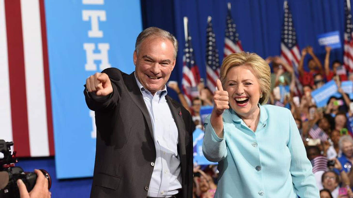Tim Kaine is the senator from Virginia, and a former governor from that state. He's seen as a centrist, but at heart is a died-in-the-wool liberal. That's from last week's profile of the Democratic presidential nominee in the  New York Times . Sheryl Gay Stolberg is the author.