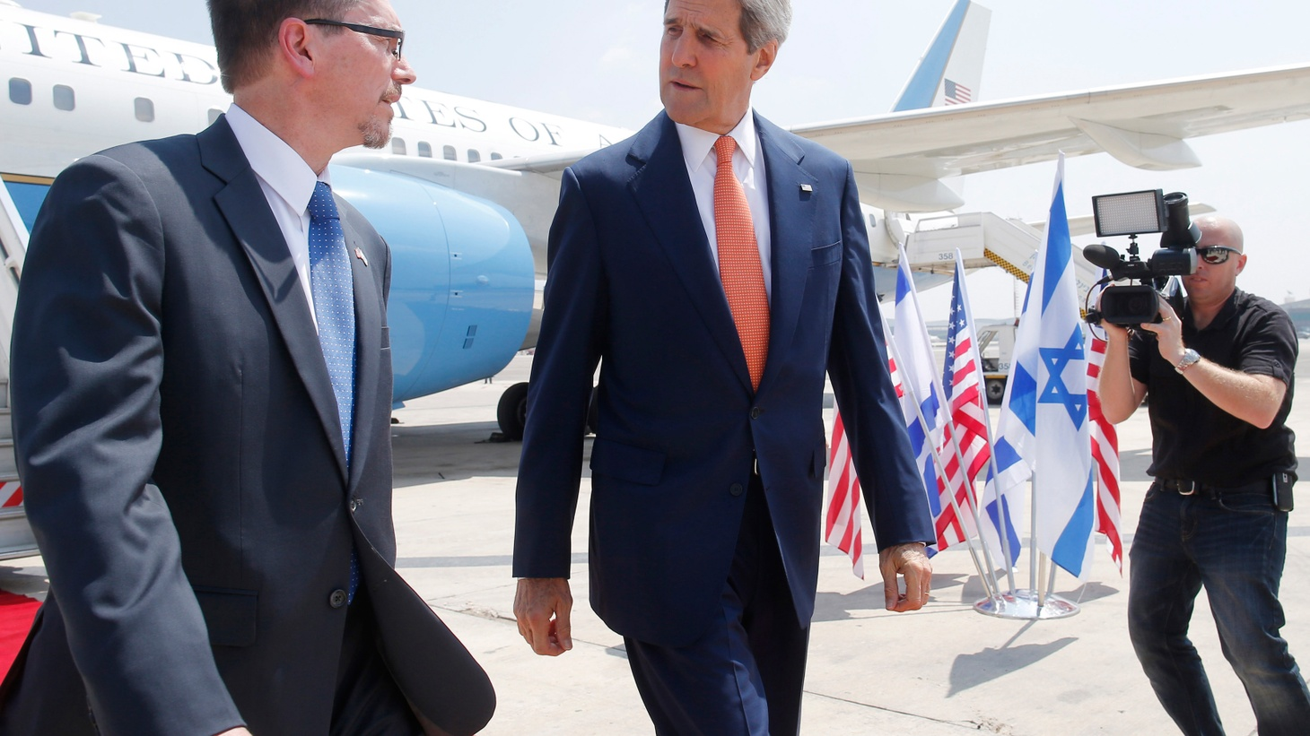 Secretary of State Kerry is shuttling around the Middle East in the hope of negotiating a ceasefire in the Gaza Strip. We'll hear about the challenges for international leaders as the war goes on.