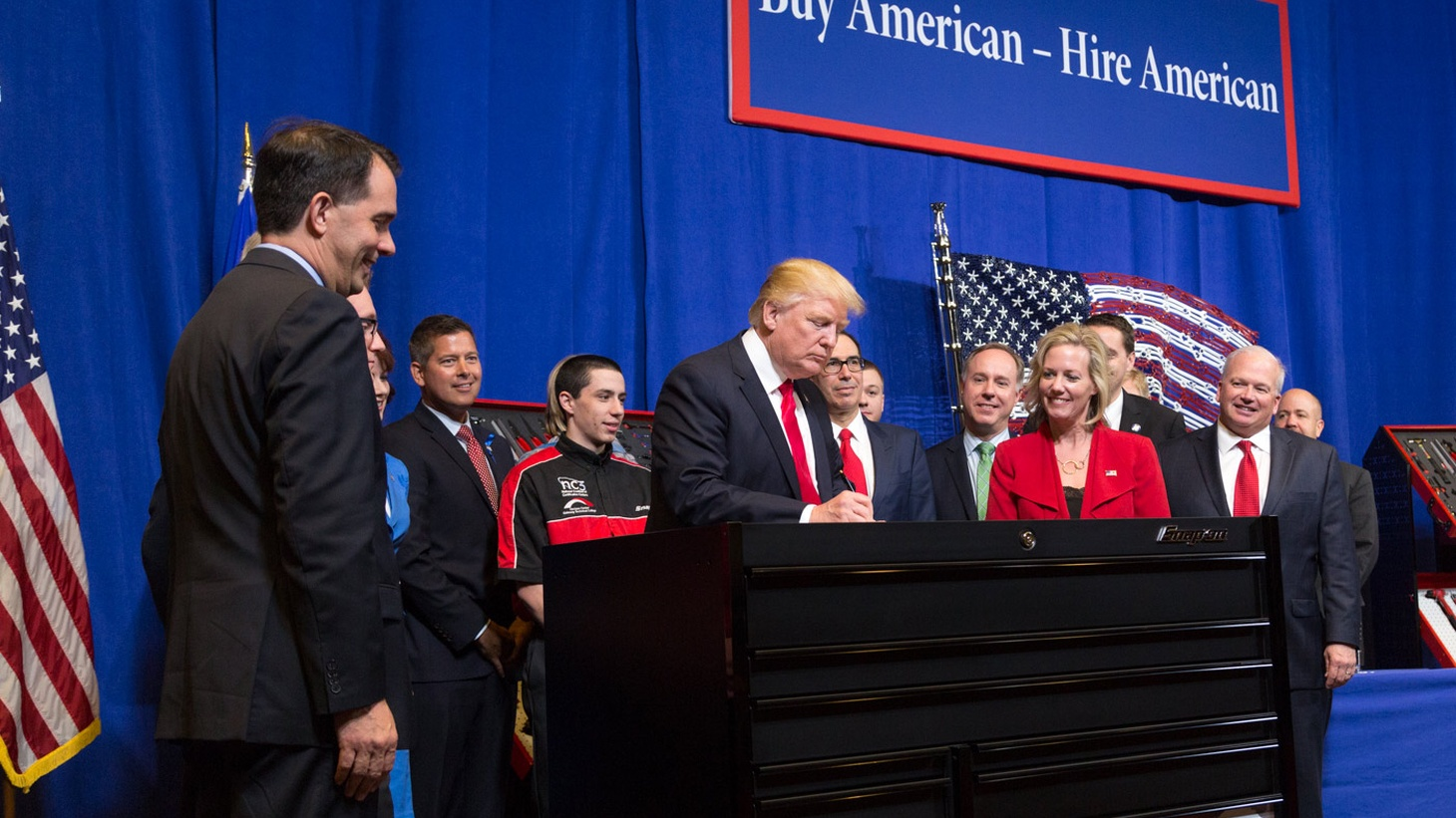US companies are allowed to hire employees from other countries with highly developed skills that can't be found here. President Trump says it's being abused as a way to find cheap foreign labor. We hear about the benefits—and the risks—of changing the H-1B program.