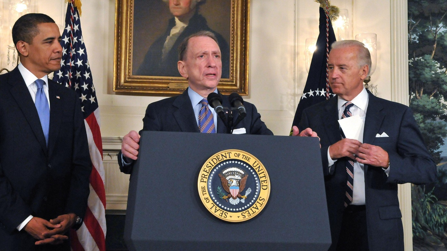 On his hundredth day, President Obama thanked Pennsylvania Senator Arlen Specter for switching parties. Will Specter be a better Democrat than he was a Republican? Has the GOP gone so far right that it can't appeal to the centrists and independents who decide most elections? Also, vaccines and variations in the Swine Flu outbreak, and melting ice and international politics in the Arctic.