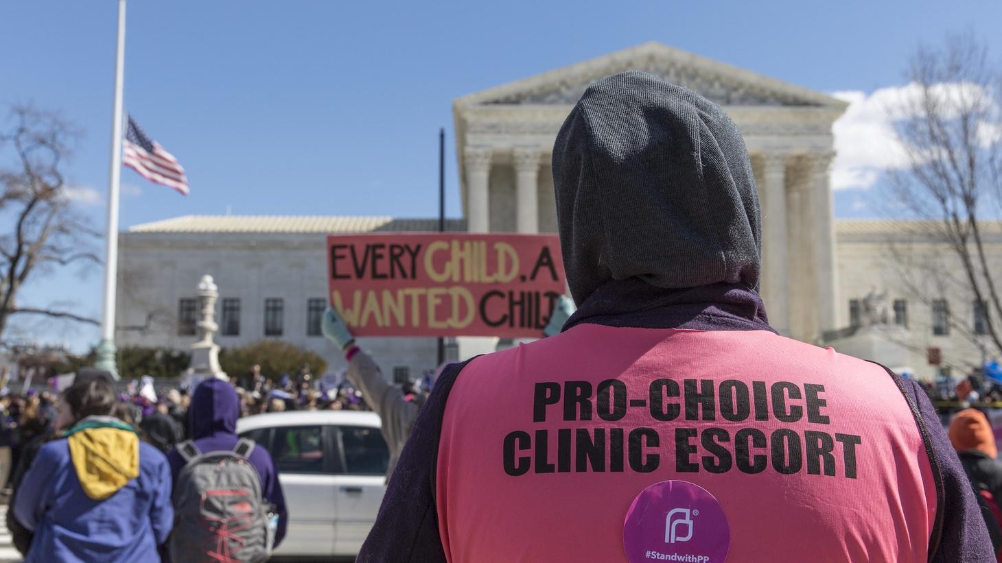 Pro-choice Clinic Escort