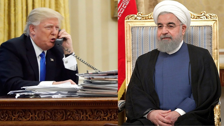 "President Trump has invited Iran to ""pick up the phone and call"" him. He's also threatened the ""end"" of that country. It's the latest act  in a long international drama."