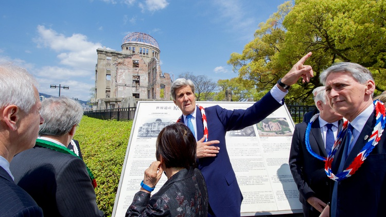 Seventy years ago, the United States struck the Japanese cities of Hiroshima and Nagasaki. There's still dispute over whether that was necessary to end World War II.
