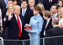 Donald J. Trump Sworn in as president