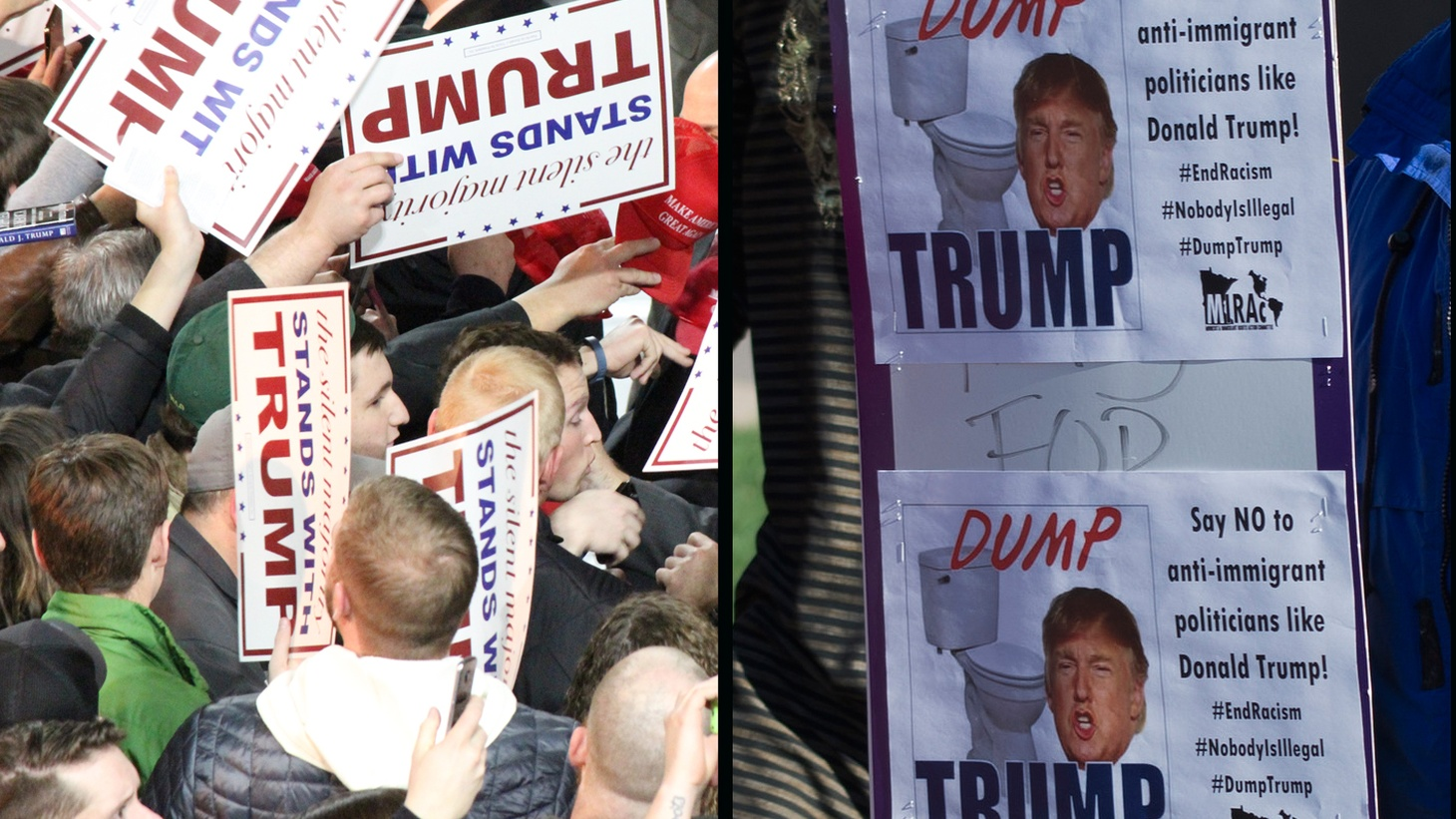 Donald Trump may or may not be America's next president, but there's no doubt his outrageous campaign has struck a chord with millions of Americans. We hear different theories of how Trump Nation came to be and what it means for the future.