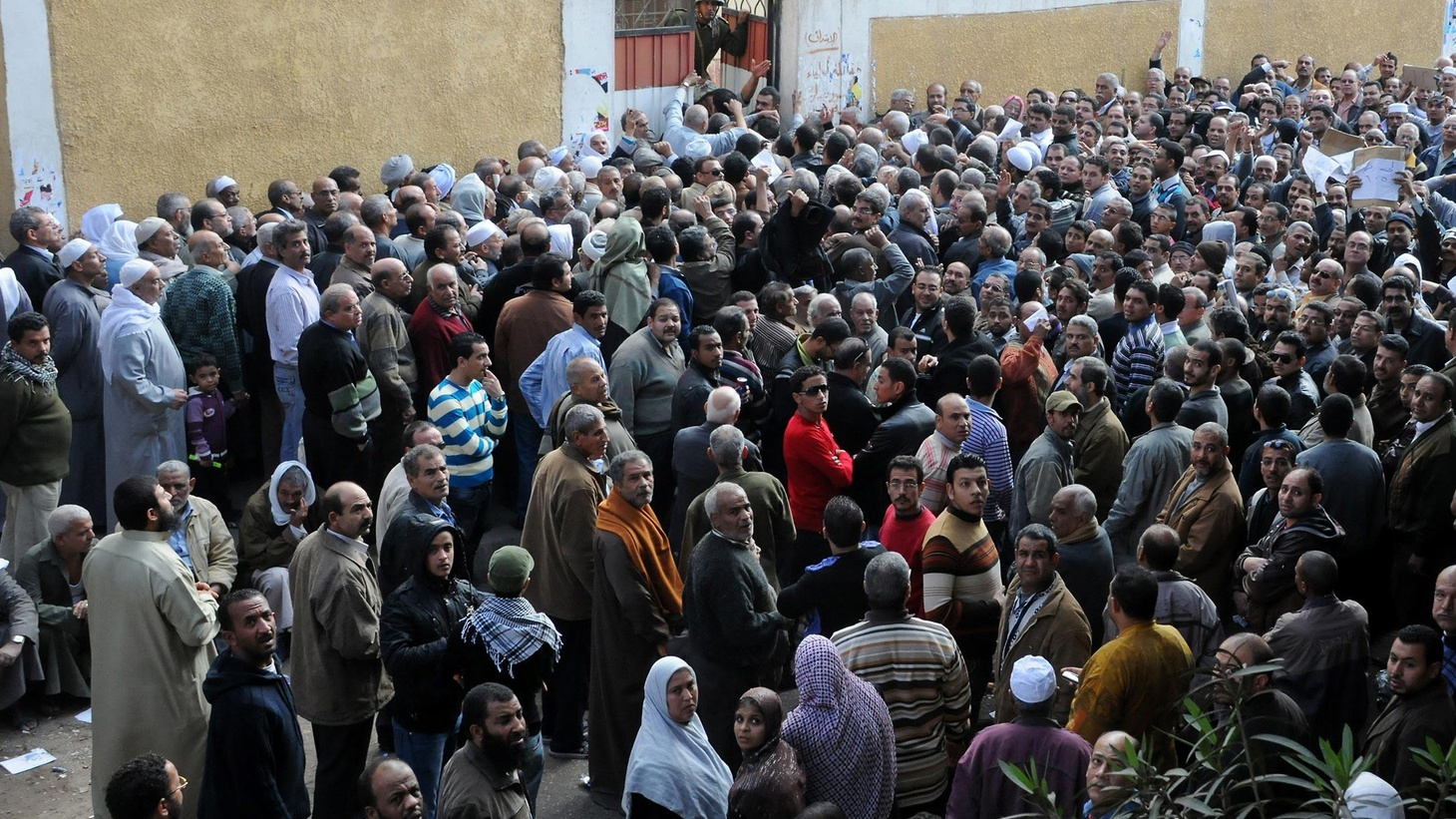 "Egypt turned out en masse for today's elections. Syria accused the Arab League of economic warfare. We look at the changes wrought by the ""Arab Spring"" in the Middle East."