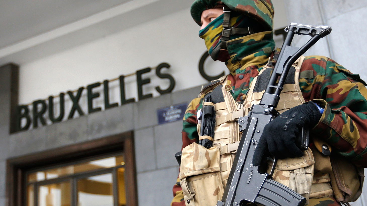 """The """"unified"""" countries of Europe are being challenged to crack down on terrorists within their own borders—while preserving the values of liberal democracy. We update the scene in Brussels after the second terrorist attack in just four months and hear the response of candidates for the White House who've seized the issue for their campaigns."""