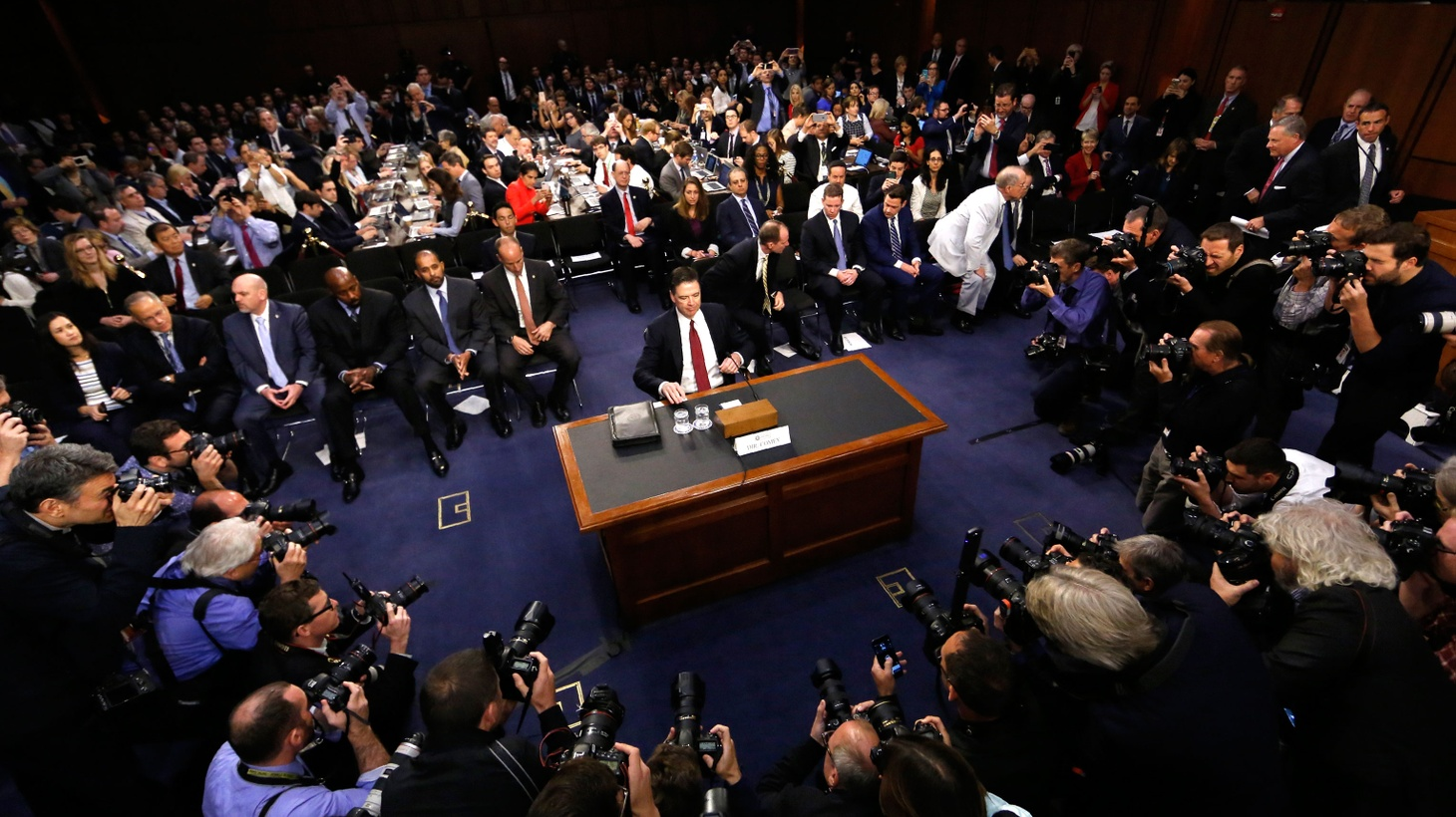 """Today, former FBI Director James Comey came close to calling the President who fired him a liar. The White House denied the claim and called it insulting, but Republican Senators did not challenge Comey's truthfulness. Many questions remain: did the President try to obstruct a federal investigation? Later, we'll go behind the """"velvet rope"""" for a look at 5-Star health care for the richest Americans."""