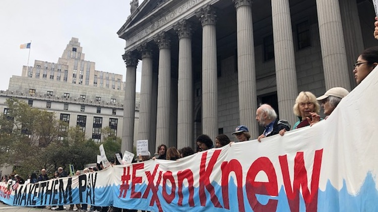 Exxon Mobil goes to court