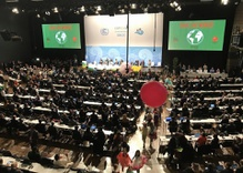 US watching from sidelines of global climate conference