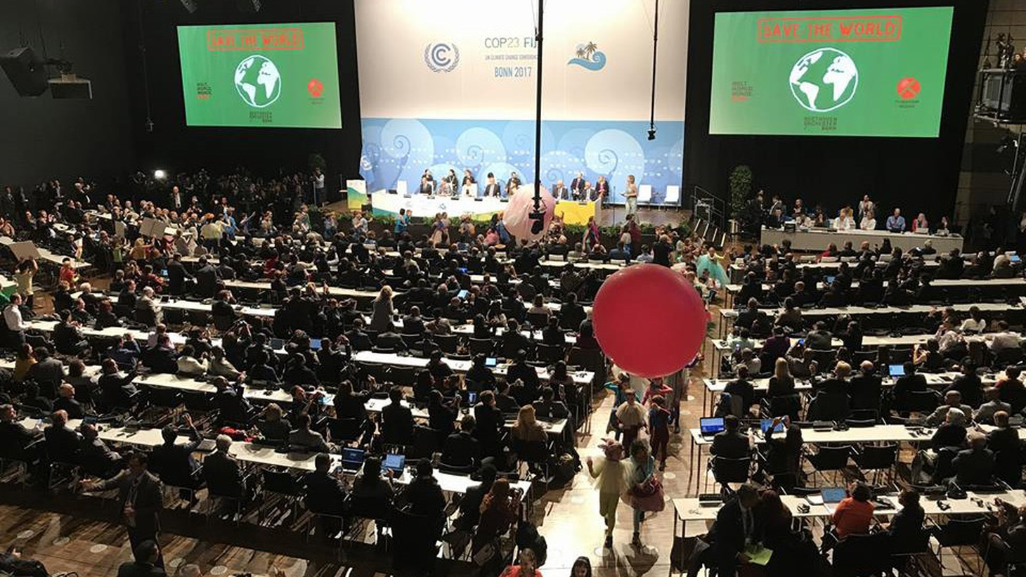 In Bonn, Germany, negotiators are trying to sharpen the fine points of the Paris Climate Accord, and US diplomats are in attendance. But they have limitations, given that President Trump has pledged to withdraw from the Accord. The US can't officially pull out until the year 2020.