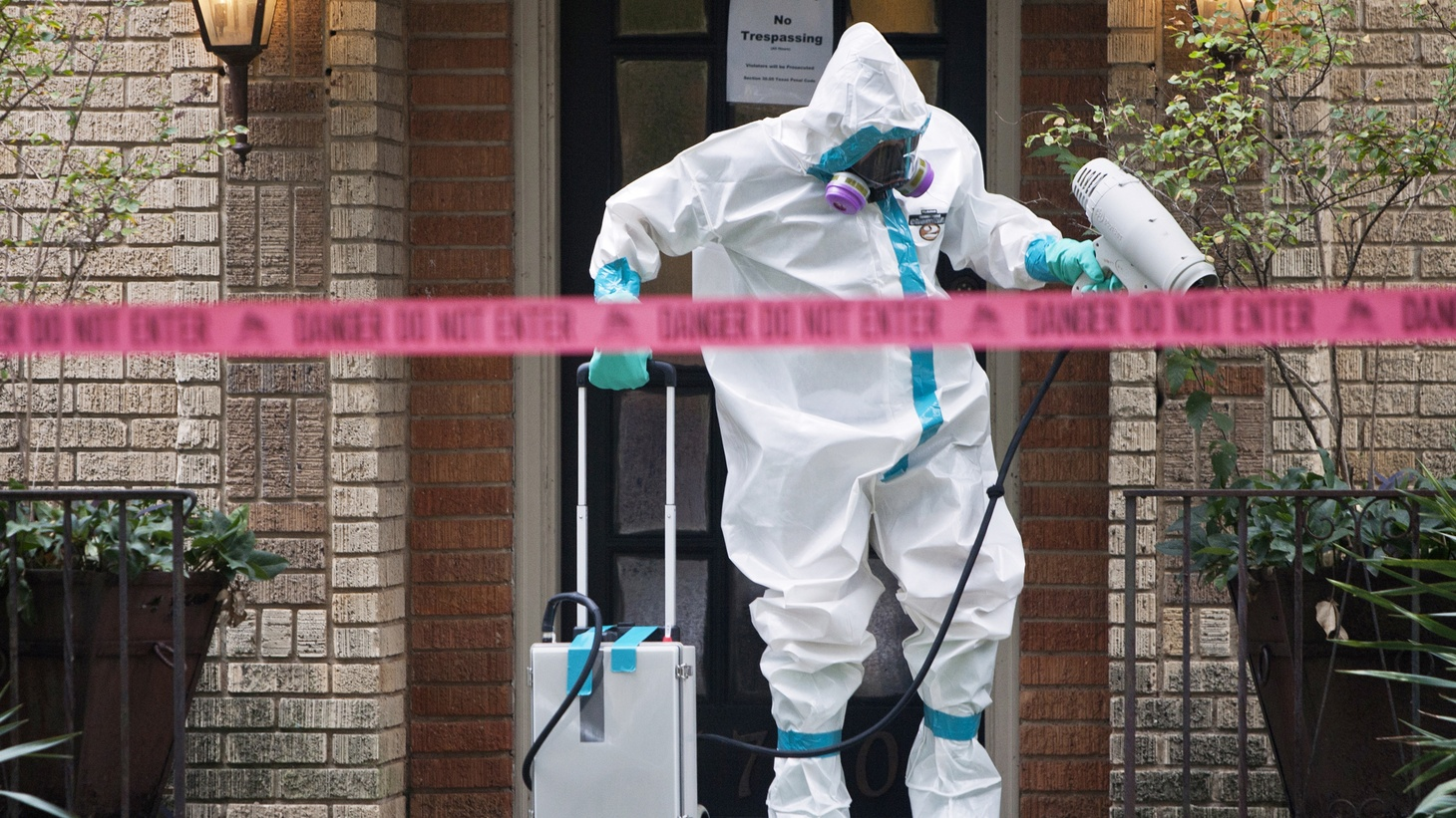 The first person to contract Ebola in the United States is a nurse who treated Thomas Duncan, the man who died of Ebola in Dallas after catching it in Liberia. Other healthcare workers who treated Duncan might be at risk.We'll hear about the risks in this country, and how Ebola spread in Liberia, Guinea and Sierra Leone.