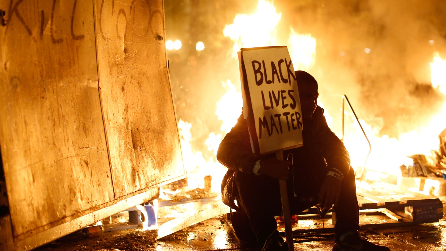 Ferguson, Missouri erupted last night after a grand jury held that white Officer Darren Wilson's killing of black teenager Michael Brown was not a crime. We look at the process, the mountain of evidence and what the incident could mean for the country.