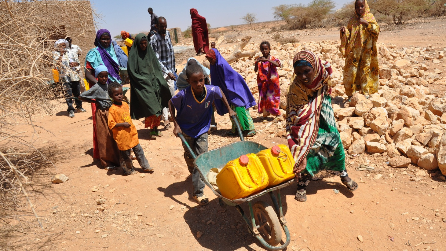 In Africa and the Arabian Peninsula, there's an acute shortage of food and clean water, but the UN has received just a fraction of the money needed for the relief or prevention of famine.Will the Trump Administration push for budget cuts rather than make donations?