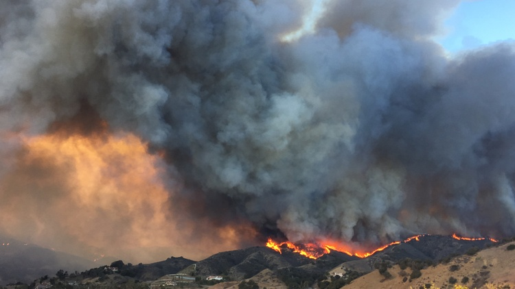 Firestorms, Federal Relief and Climate Change
