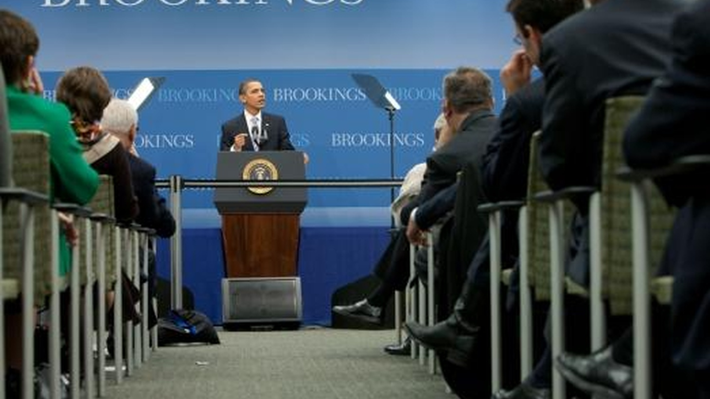 On his way to Europe to pick up his  Nobel Prize , President Obama addresses some controversial issues. He commended Senate Democrats for their agreement on one of the most controversial aspects of healthcare reform. Yesterday, he announced that he wants to use unspent TARP bailout money to help create jobs.