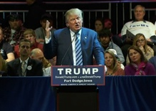 "Trump goes ""Full Trump"" in Iowa, GOP Candidates React"