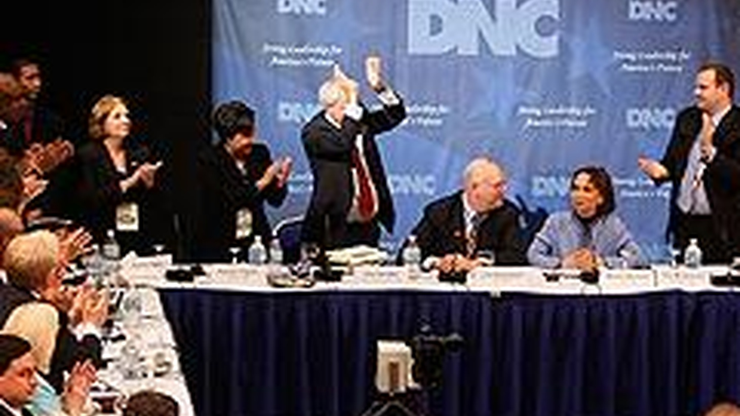 Over the weekend, the Democratic Party's Rules and Bylaws Committee made decisions about the disputed Florida and Michigan primaries. Hillary Clinton won a decisive victory in Puerto Rico's primary. Tomorrow come elections in Montana and South Dakota, the last two in a long primary campaign. Also, Senator Ted Kennedy undergoes brain surgery, and it's dark on the runway. fashion legend Yves Saint Laurent passed away yesterday in Paris. Sara Terry guest hosts.