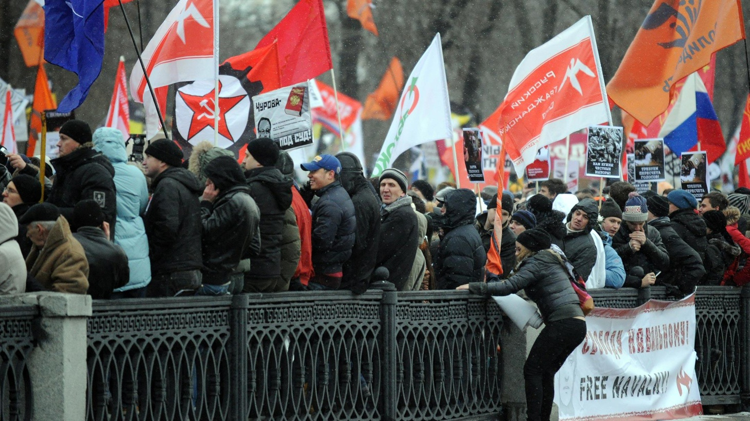 In Russia Saturday, mass protests and political challenges from the left, right and even the Orthodox Church. Is Prime Minister Putin really at risk of losing his power?