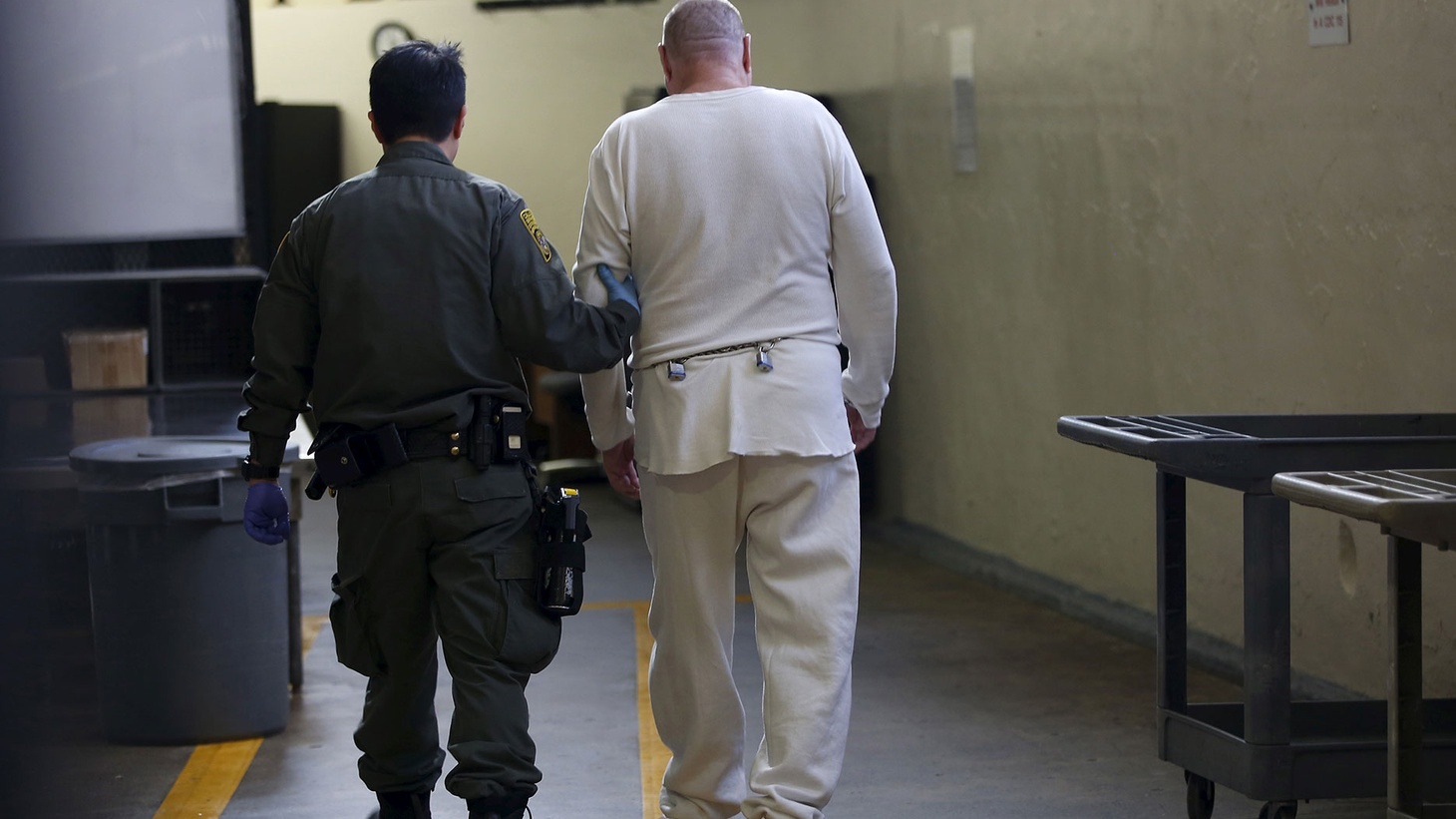A guard escorts a condemned inmate down a corridor in the East Block  during a media tour of California's Death Row at San Quentin State Prison  in San Quentin, California December 29, 2015 Photo: Stephen Lam/Reuters    Nebraska  and  Oklahoma  are voting on measures that would institutionalize capital punishment. In  California , there's a…