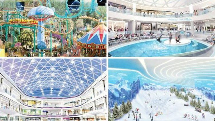 Minnesota's Mall of America has been the last word in American commercialism run wild, but it will be dwarfed by a new development underway in Florida.