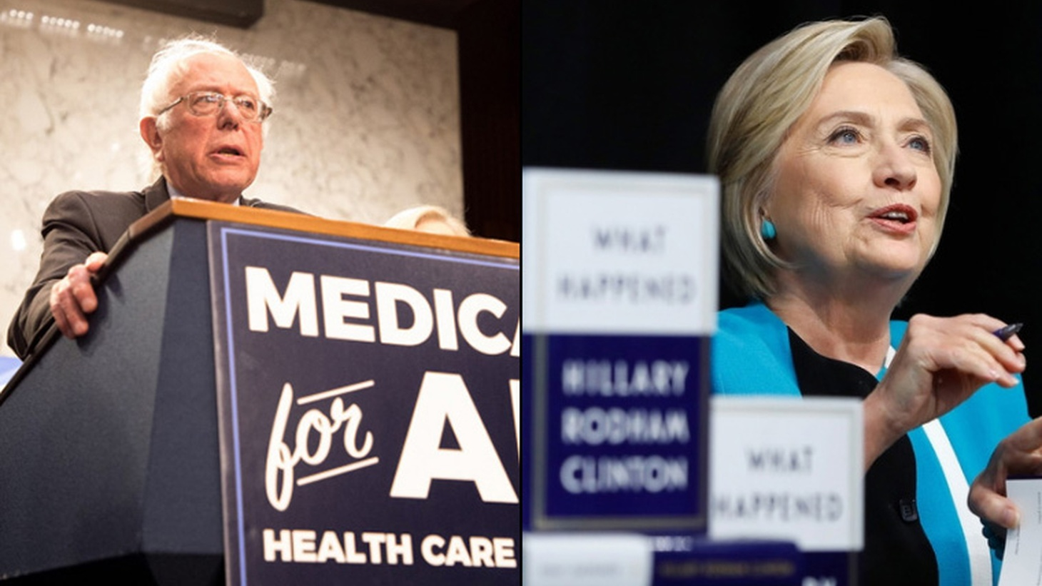 The split between grass roots Democrats and Party regulars, with Hillary Clinton and Bernie Sanders back in the spotlight this week.