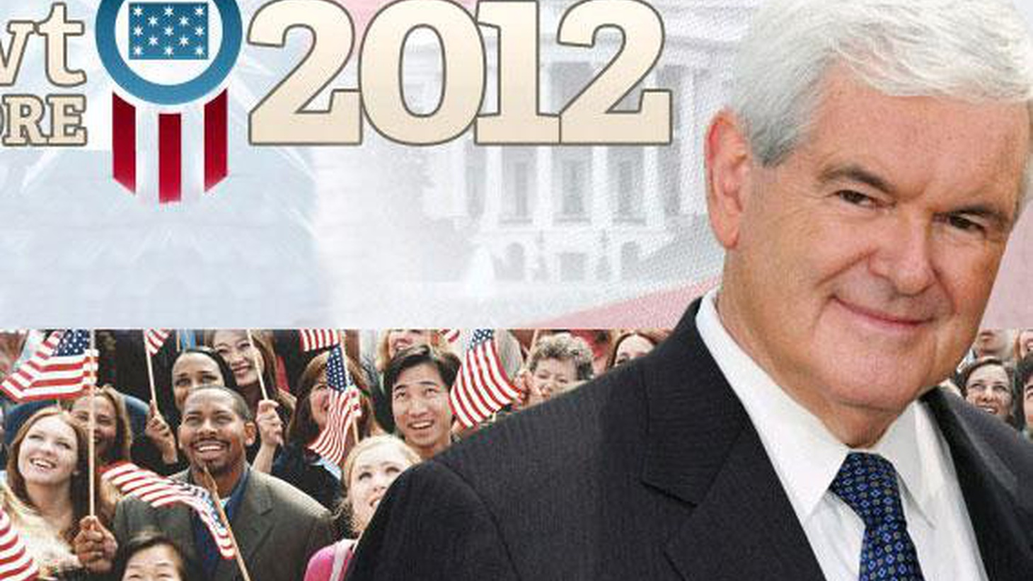A crowd of prominent Republicans is supposedly thirsting to run against President Obama next year, but they've waited a long time to make that final commitment. Now, Newt Gingrich says he'll take the plunge...