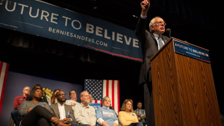 It's Super Tuesday tomorrow for the Democrats as well as the Republicans. What's at stake for Bernie Sanders after a crushing defeat this weekend in South Carolina?