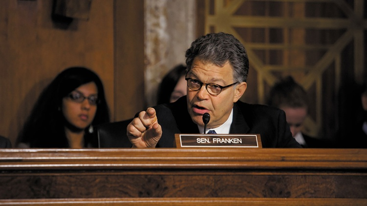 US Senator Al Franken dishes about confirmation hearings, Ted Cruz and telling jokes again…
