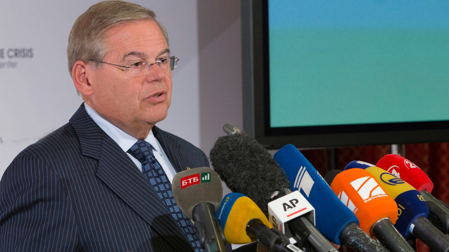 "US Senator Bob Menendez is a Democrat from New Jersey. When his trial on corruption charges began, federal prosecutor Peter Koski said, ""This case is about a corrupt politician who sold his Senate office for a life of luxury he couldn't afford."" The trial involves hundreds of thousands of dollars in alleged bribes from a Florida eye doctor."