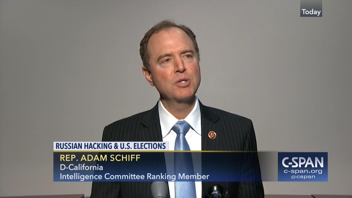 Rep. Adam Schiff speaking on C-Span.