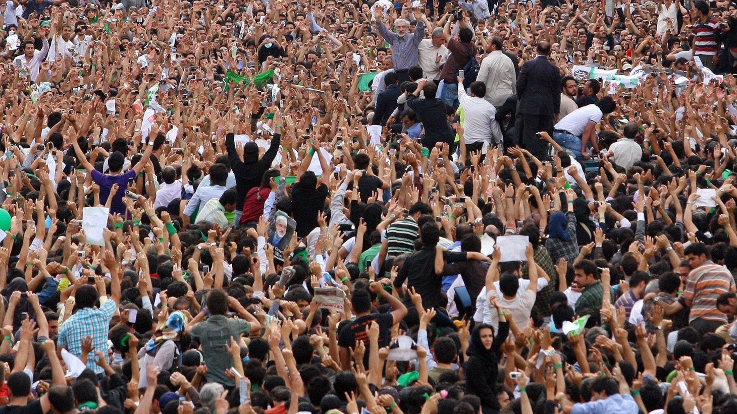 Demonstrations for and against the government continued today in Iran. We hear about the most serious challenge to the central government since the Islamic revolution in 1979. Also, South Korea's President is in lockstep with President Obama on North Korea, and Western states are challenging federal authority on education, civil rights, land use and gun control.