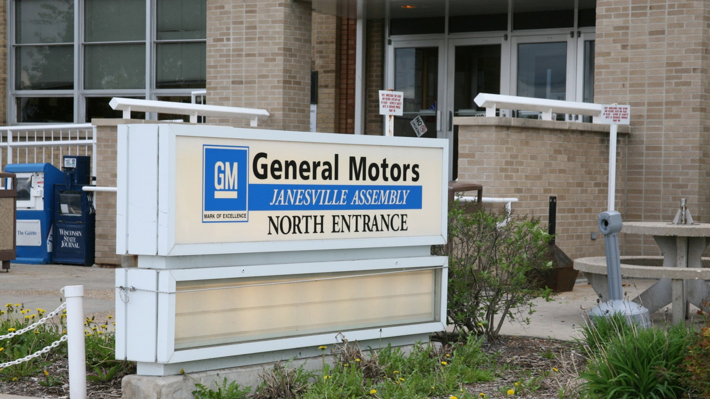 Janesville, Wisconsin is the hometown of Republican House Speaker Paul Ryan. But he couldn't prevent the closing of the General Motors factory after 100 years. We hear what's happened to what once was a model of American middle-class unity.
