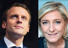 Macron and Le Pen advance to Round Two in the French election