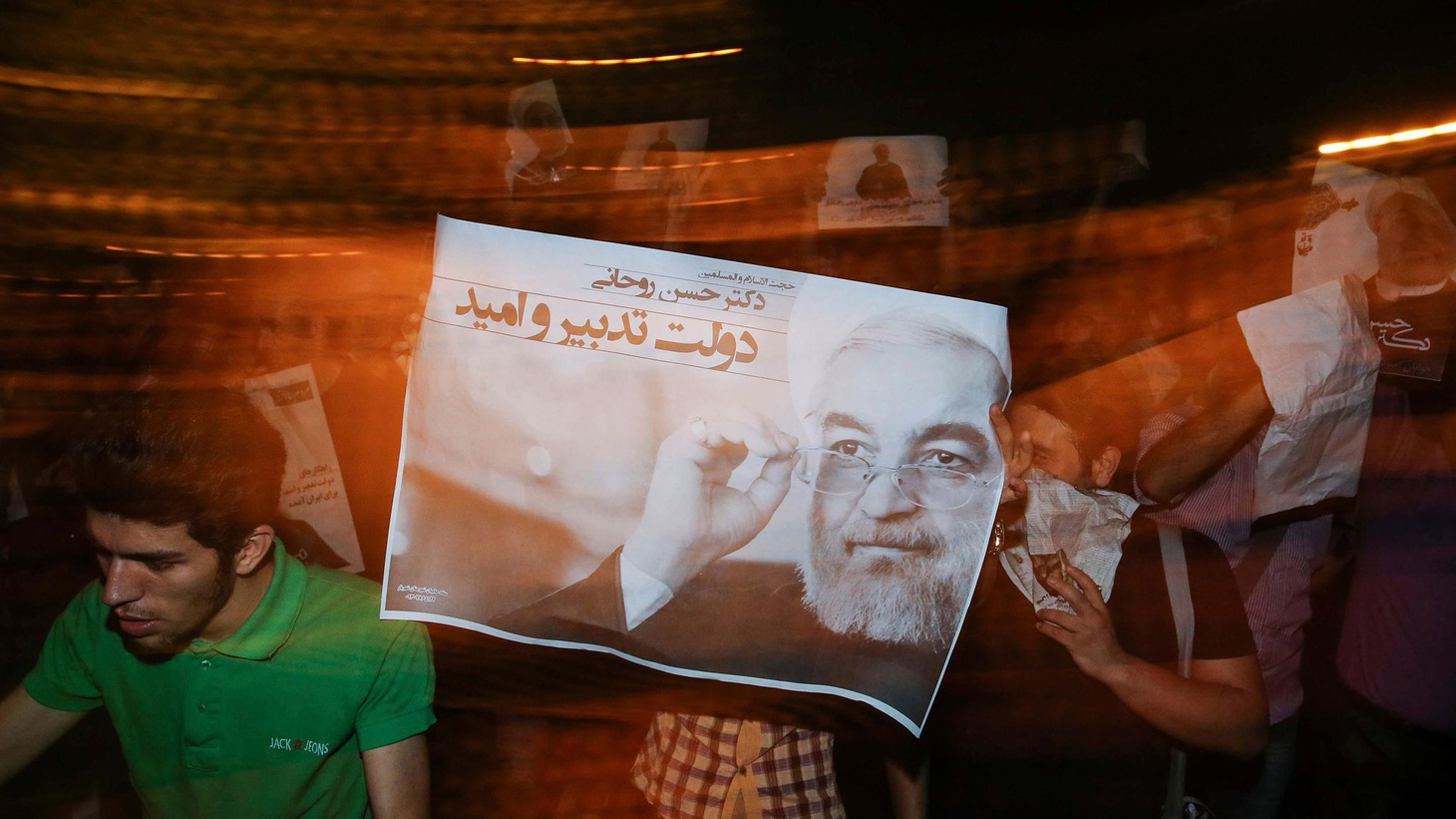 After 8 years of Ahmadinejad, Iran's clerical leaders have tried minimize controversy in tomorrow's presidential election. But political opposition may rise to the surface.