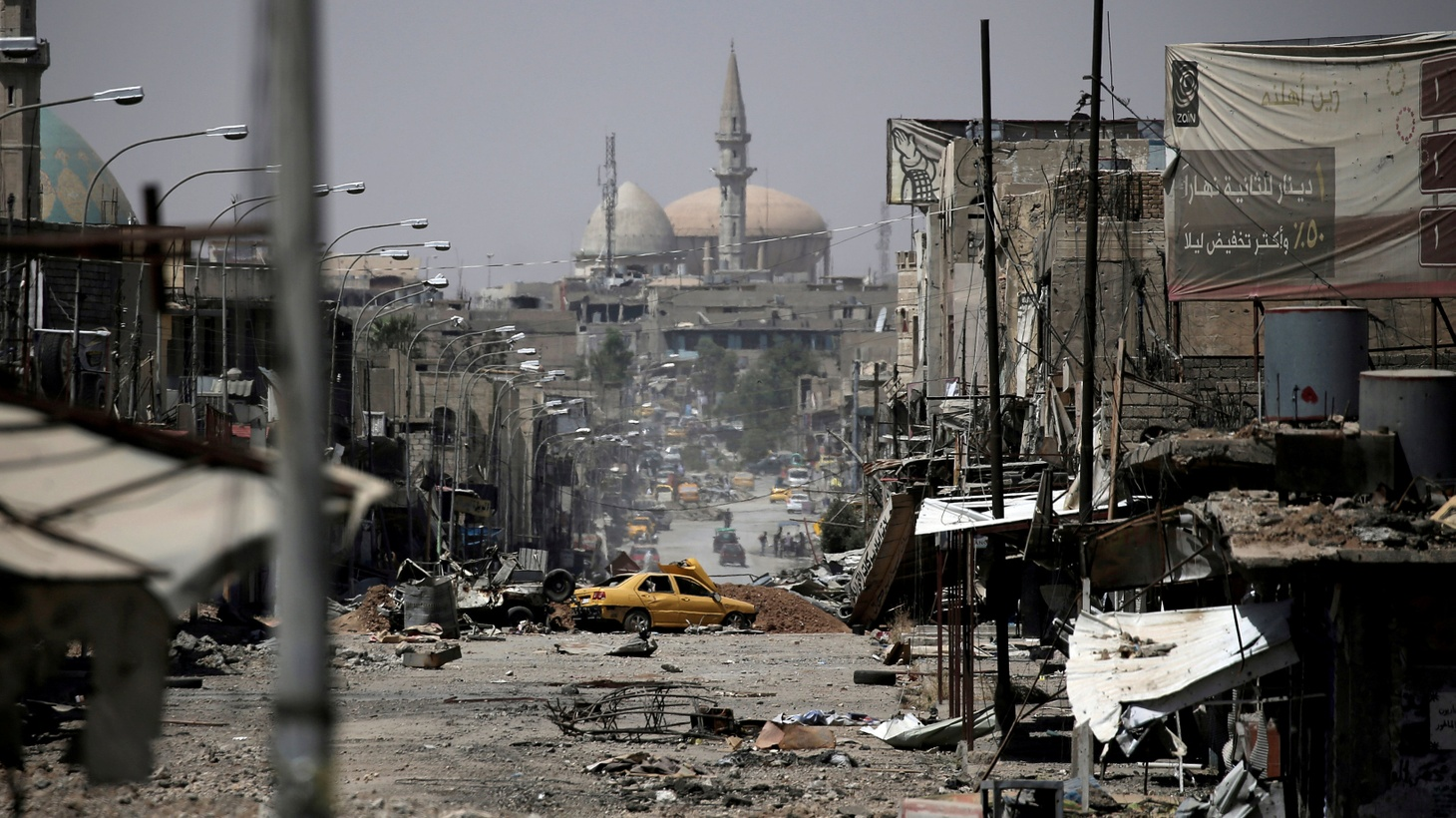 Western backed Iraqi forces have struck a blow against the Islamic State by devastating half the city of Mosul, leaving more than 700,000 refugees. Will the US and other allies help to rebuild — as ISIS violence continues?