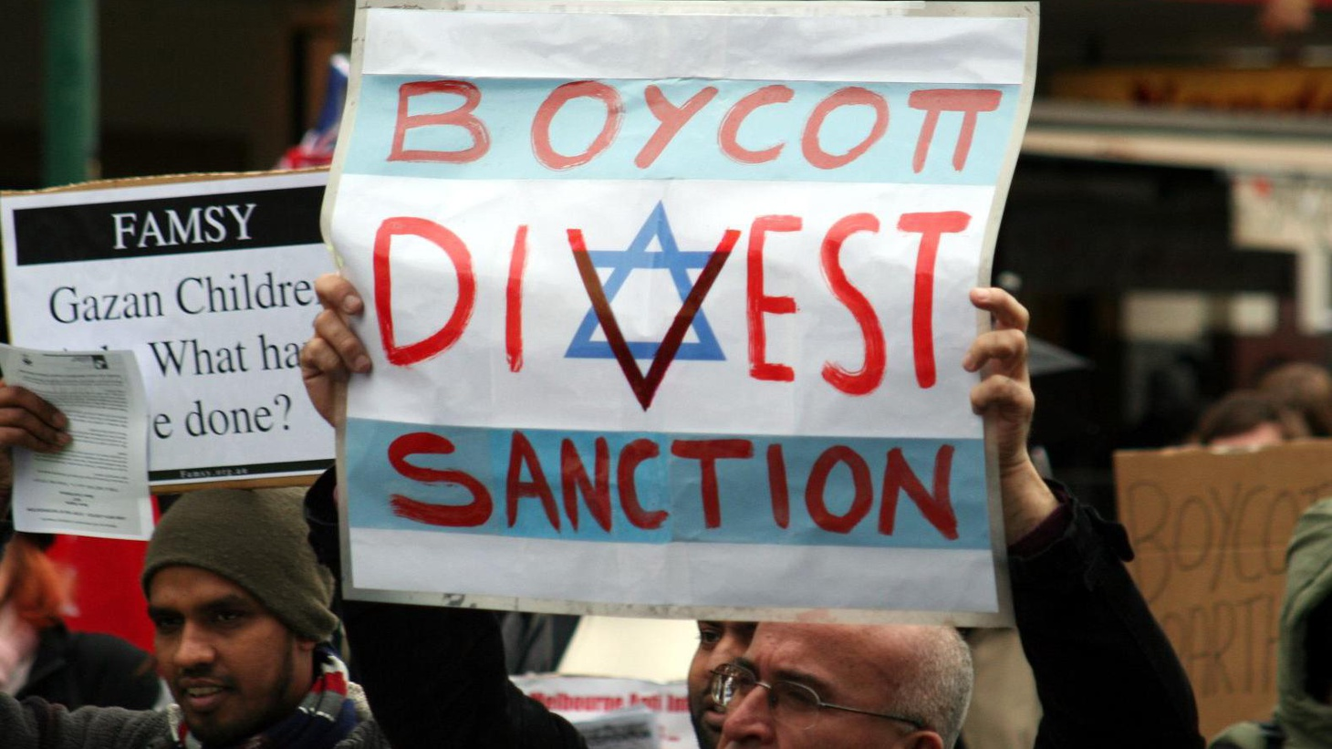 """A non-violent Palestinian call for """"boycott, divestment and sanctions"""" could damage Israel's economy with consequences for peace and a """"two-state solution."""""""