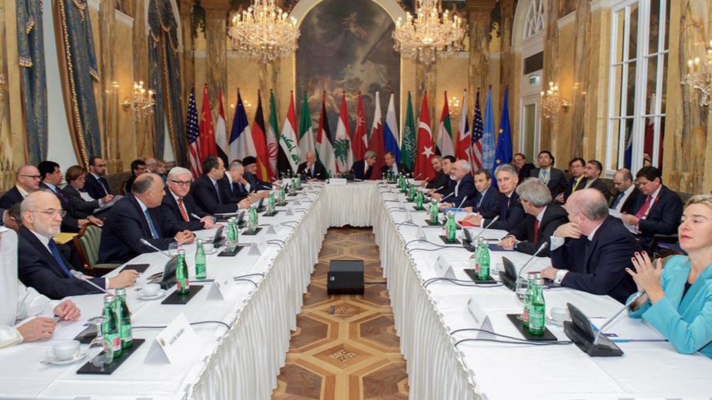 With agreement that Syria's civil war needs a diplomatic solution, 17 nations met for seven hours last week to discuss an agenda. But Syria's Assad regime and rebel forces weren't there — and the fighting continues. Is a diplomatic solution for Syria possible?