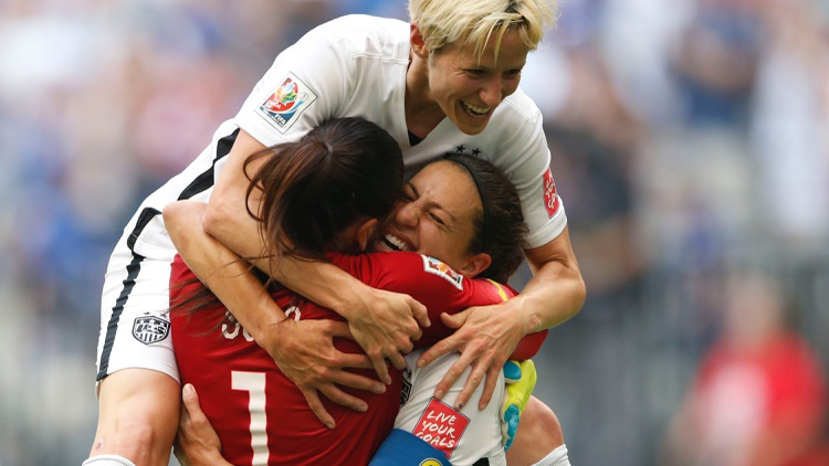 After a wait of 16 years since winning the World Cup in women's soccer, the  US finally did it again yesterday  — with a vengeance.