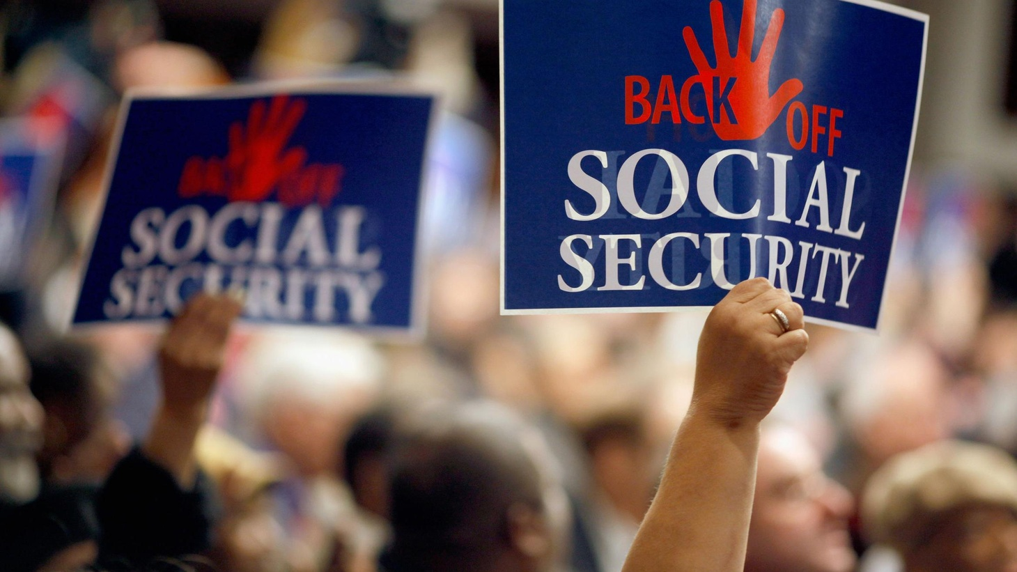 Washington's most potent advocate for the elderly says cuts in Social Security might be inevitable. Is that a change of position? Should Social Security become part of deficit reduction?