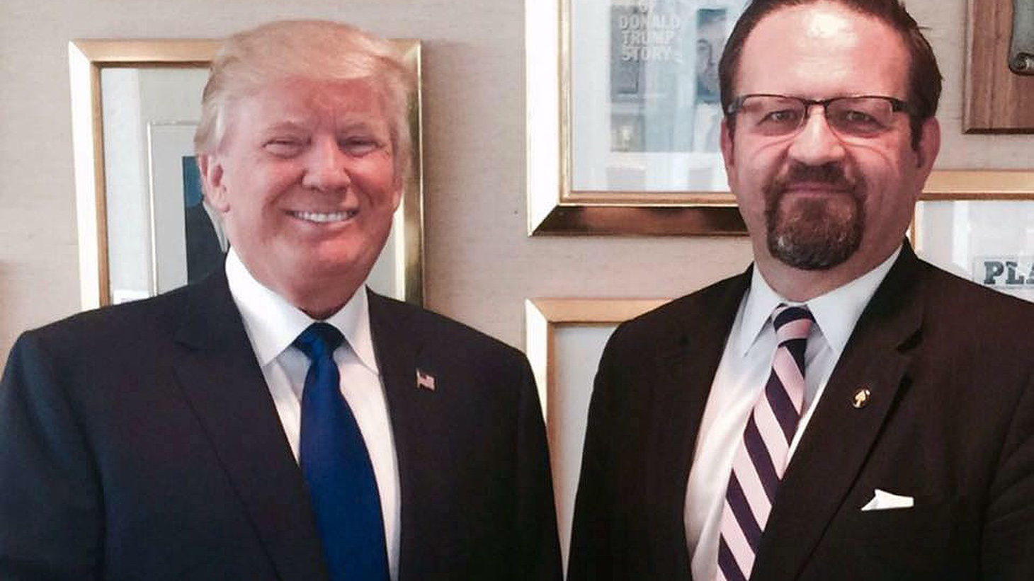 "Sebastian Gorka is called the Presidents ""top counter-terrorism advisor"" and he's a major supporter of the controversial travel ban. But at one of January's inaugural festivities he wore a medal in his lapel that raised questions about a possible affiliation with an anti-Semitic group. Now he faces questions about his own right to citizenship."