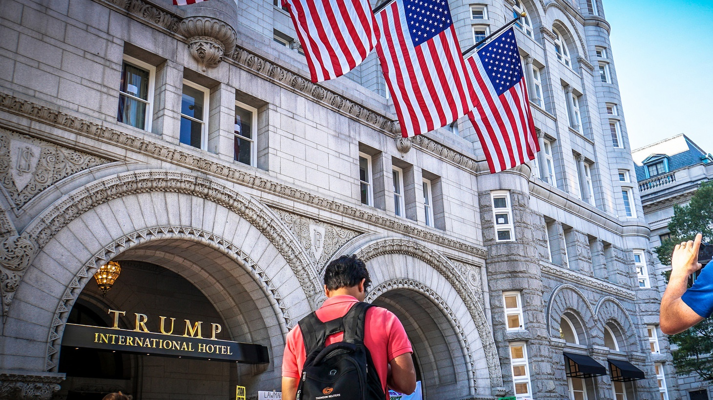 A week before he takes office, America's President-elect is already embroiled in a controversy over the Constitution. Can Donald Trump avoid prohibited conflicts of interests without selling off billions worth of investments in foreign countries or the new Trump International Hotel — on Pennsylvania Avenue, between the White House and Capitol Hill?