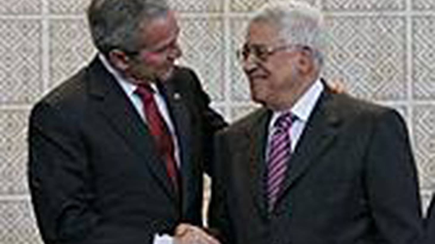 In Ramallah today, President Bush laid out more of his vision for a Palestinian state next to Israel. Will the parties agree, or is it too little, too late? Also, are the Arab states still hoping to isolate Iran? Are they looking ahead to next president of the US? Also, American attacks against al Qaeda are up as political expectations are down in Iraq, and the presidential campaigns may going on for a long while. We hear about today's developments in both parties.