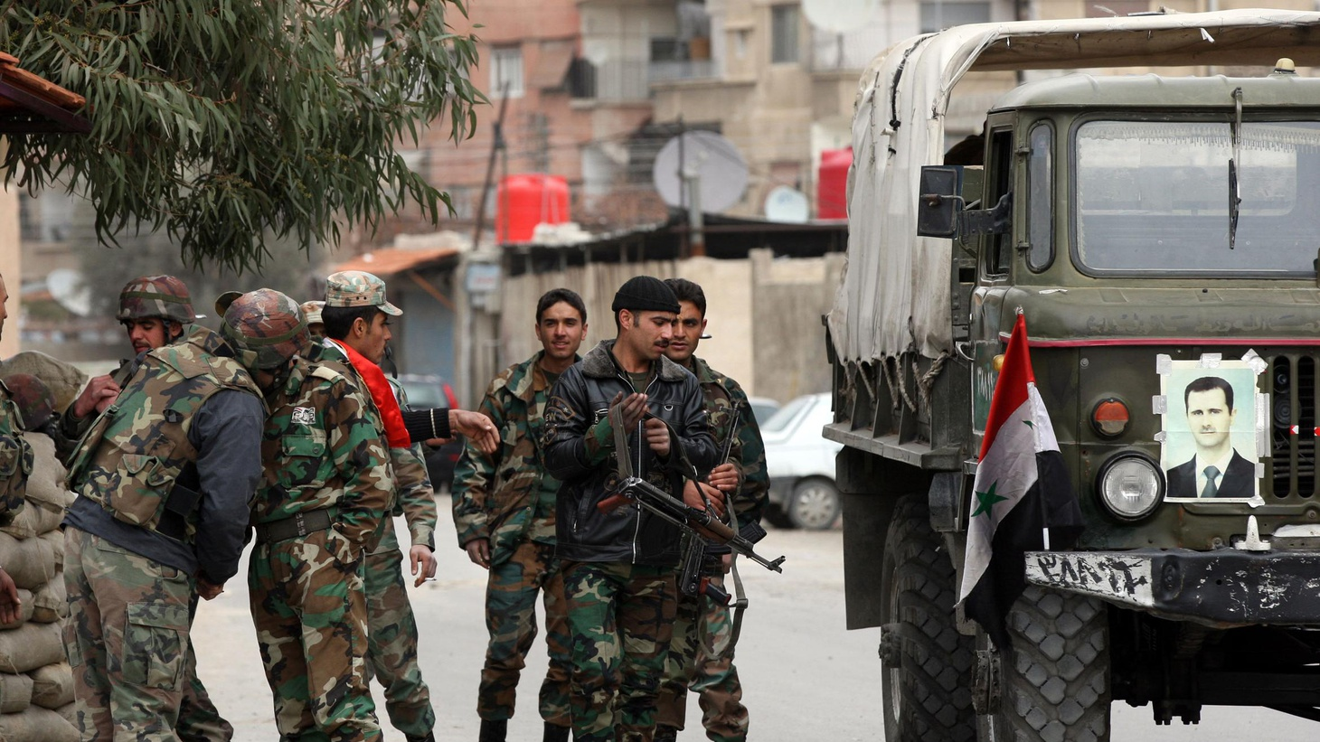 Syria's Bashar al-Assad has called for elections, even as his troops make war on their own people.