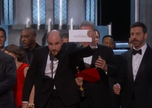 Oscar's big night eclipsed by an unbelievable finale