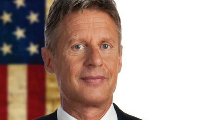 This year's Libertarian presidential candidate is Gary Johnson, former Republican Governor of New Mexico.